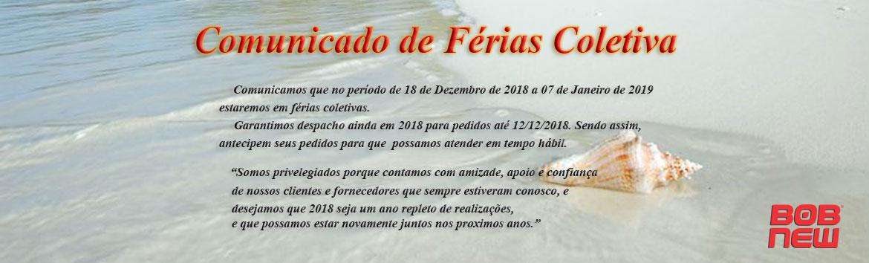 ferias - BOB NEW